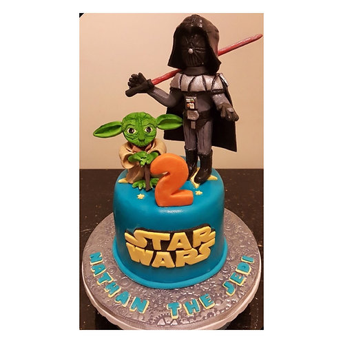 Star War Birthday Cake(Enquire for price)