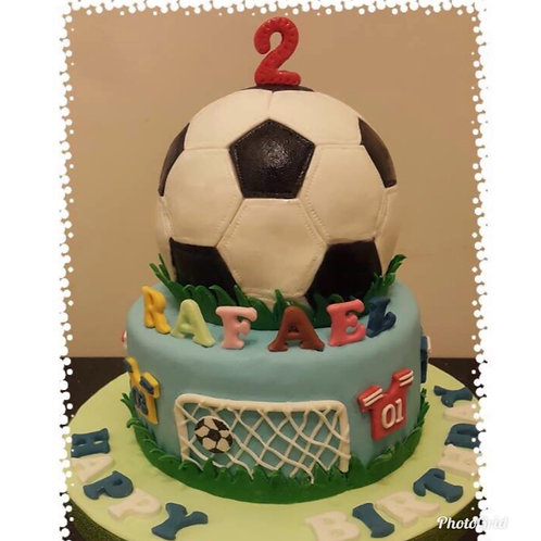 Football Themed Cake(Enquire for price)