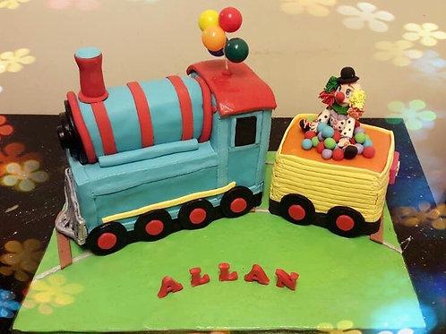 Train Cake(Circus Theme)(Enquire for price)