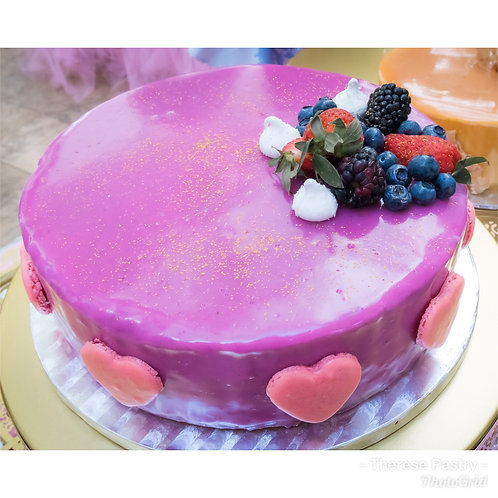 Assorted Berry Yoghurt Mouse Cake