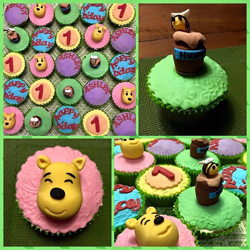 Birthday Cupcakes(Price for 12 pieces)
