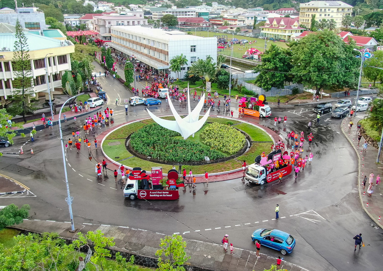 Absa Seychelles Launch Street Party