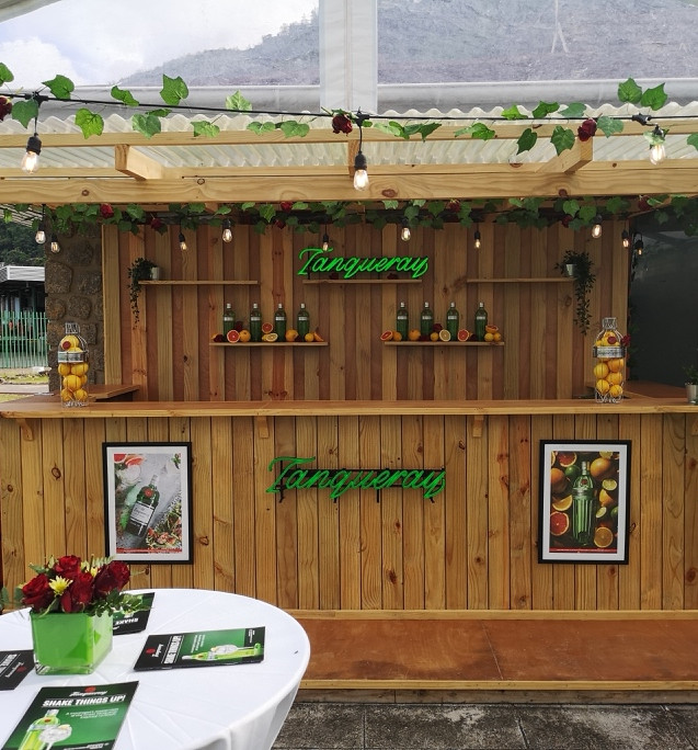 Tanqueray Bar Design