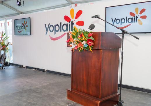 Yoplait Seychelles Launch