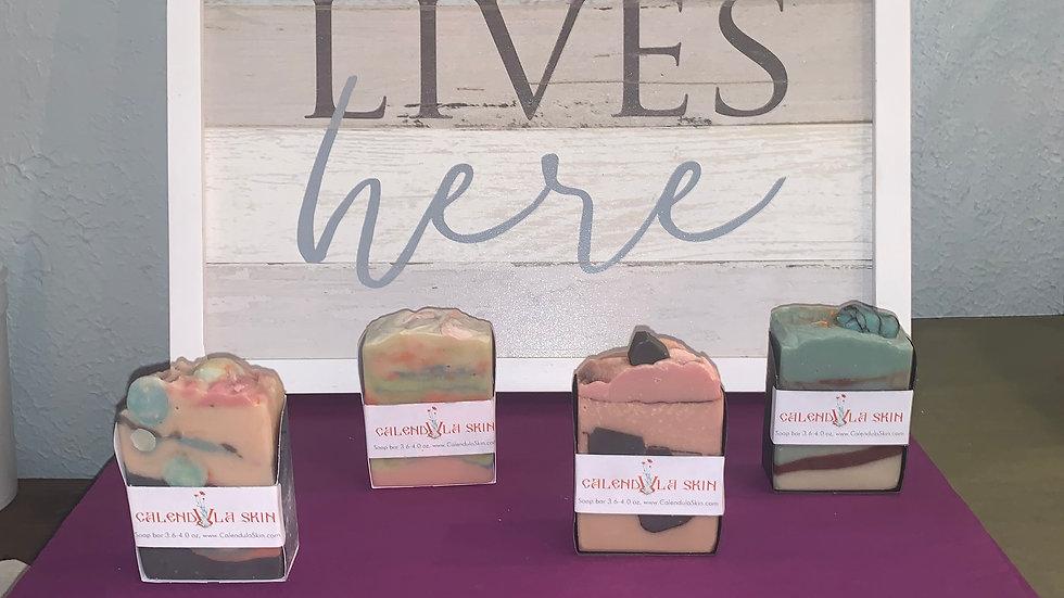 Calendula skin soap