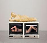 Karma, 1993, video installation, two-cha