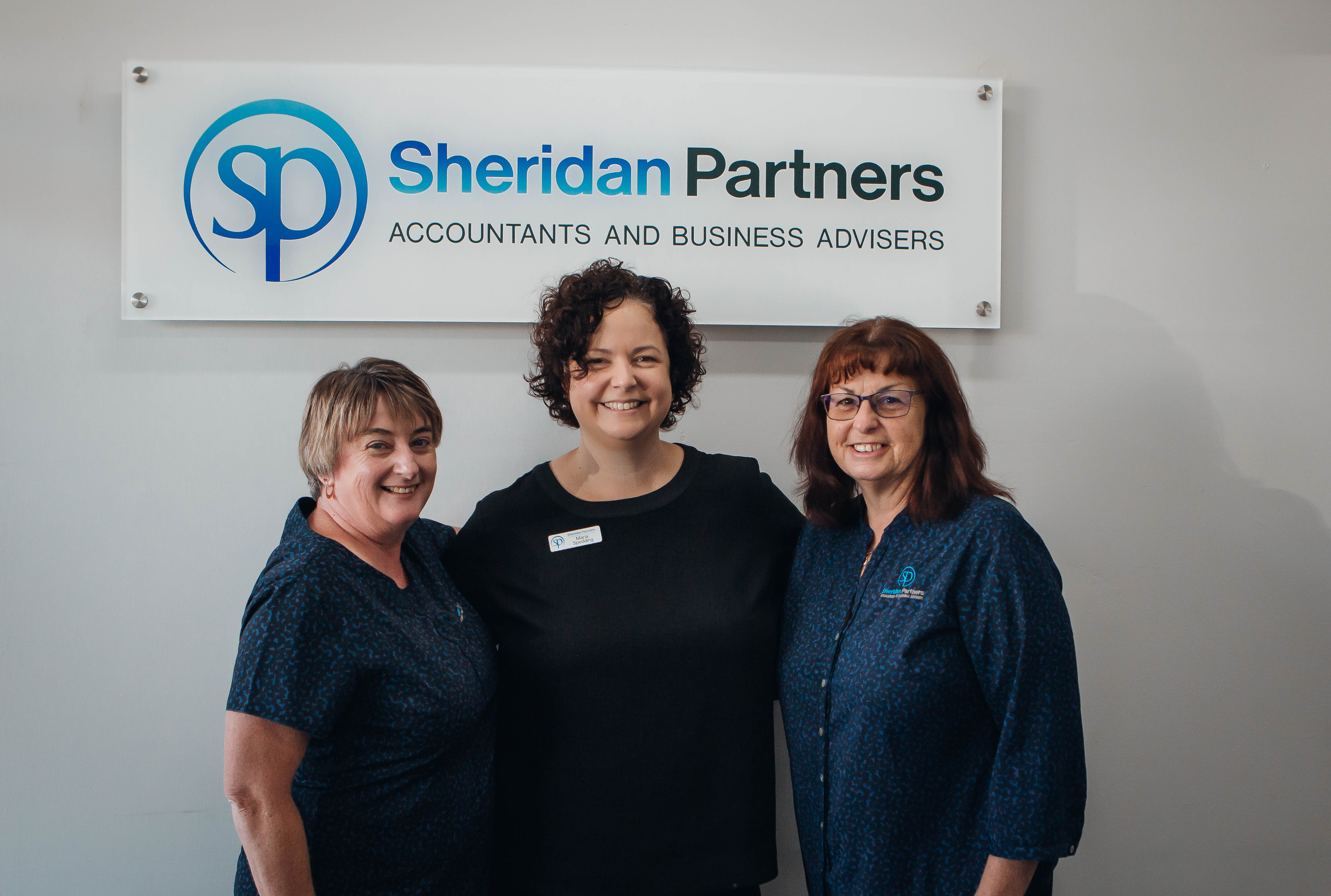 Vicki Finn, Maria Spedding, Sandra Witham, Tatura Office