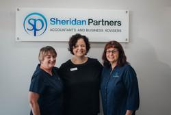 Vicki Finn, Maria Spedding, Sandra Witham, Tatura Office