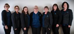 Monica Cooper, Sally Bassett, Kelley Ford, Judy Nuttall, Vicki Finn, Sandra Witham, Maria Spedding