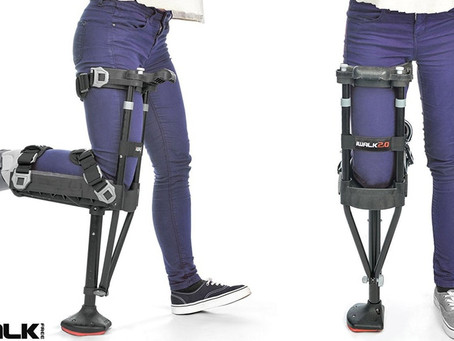 A Hands-Free Crutch Called The iWALK 2.0 Is Revolutionizing Treatment For Non-Weight Bearing
