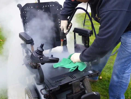 Instructions for Cleaning a Power Chair