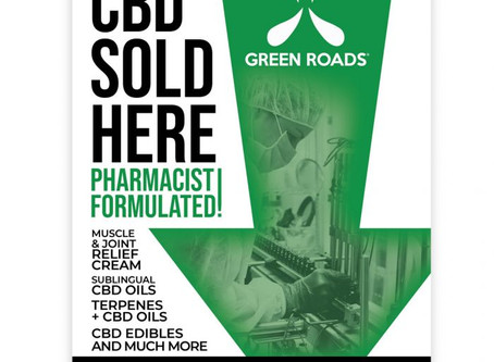 Now Selling CBD!