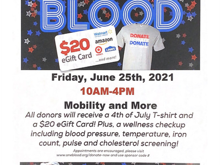 DONATE BLOOD / COIVD SHOT CLINIC