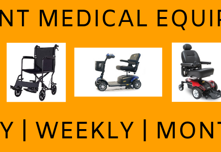 Need to rent medical equipment?  We can help!