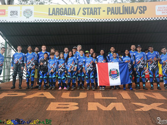 Pilotos de Indaiatuba conquistam bons resultados no Paulista de bicicross.