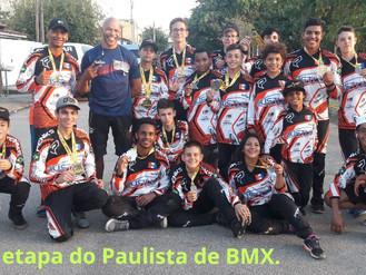 ACBIndaiatuba conquista 18 pódios na 3° etapa do Paulista de BMX.