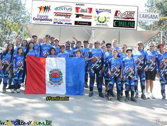 Equipe Indaiatubana conquista cinco ouro no Paulista de BMX.