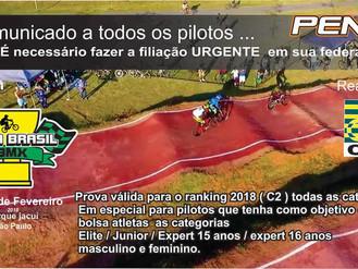 Taça Brasil de BMX.