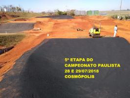 NOTÍCIAS - Cosmopolis recebe 5ª etapa do Campeonato Paulista dia 29/07