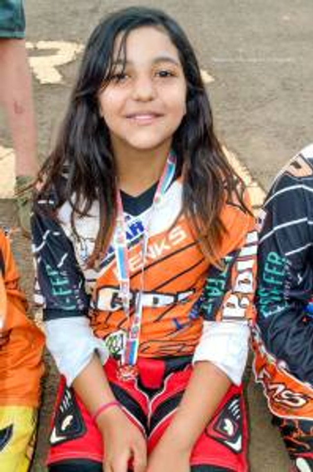 Eduarda Sampaio na feminino 11/13 anos