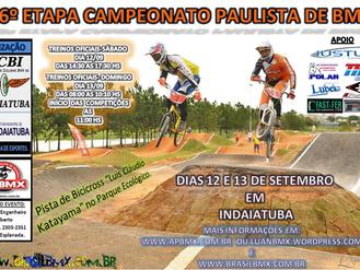 6ª etapa do Campeonato Paulista – 13/09 – Indaiatuba