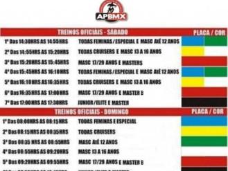 NOTÍCIAS – 6ª etapa Campeonato Paulista – Paulínia – 21/09