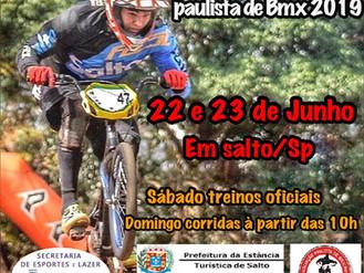 BMX Indaiatuba disputará a 5º etapa do Paulista em Salto-SP.