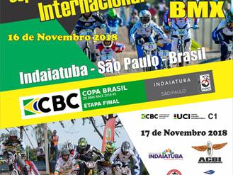 Final da Copa Brasil e Copa Penks de BMX acontecem no feriado