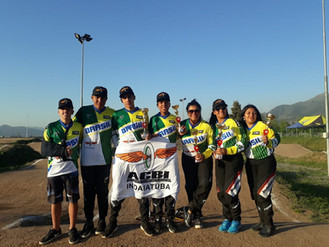 Equipe ACBIndaiatuba conquista 6 pódio no Round 5 da Copa Latino Americana do Chile.