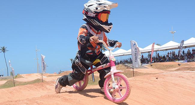 Pré-bike com Julia Sampaio.