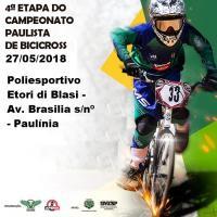 NOTÍCIAS - 4ª etapa do Campeonato Paulista - Paulínia - 27/05.
