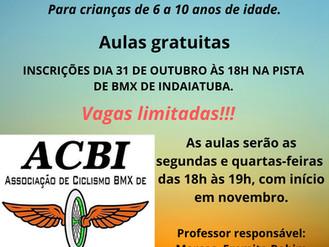ESCOLINHA DE BMX ACBI.