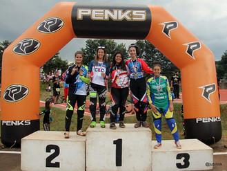 Com ouro de Eduarda Sampaio, prata de Luiz H. e bronze de Frankilin Vitor ACBI conquista 12 podio.