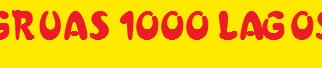 Este es la primera noticia de la Web 1000 lagos