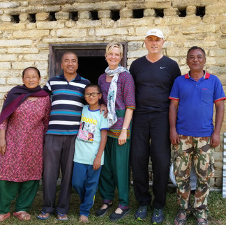 Our Nepali family!