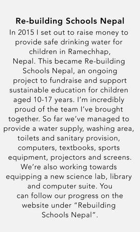 Re-building Schools Nepal