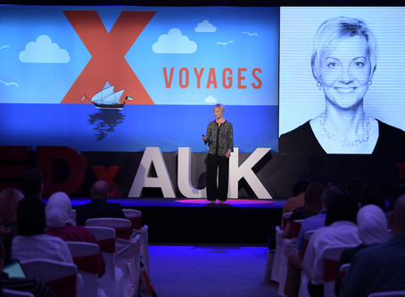 Speaking at a TEDx, the learning, the wonder and the joy!