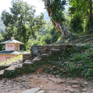 Temple at Pokhara 2016