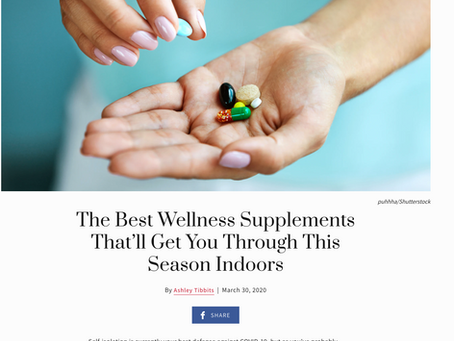 The Best Wellness Supplements That'll Get You Through This Season Indoors