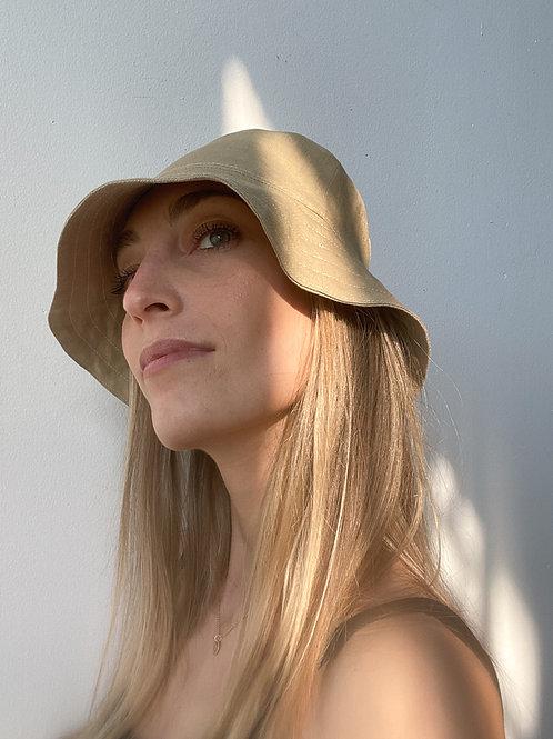 Linen Mask & Bucket Hat