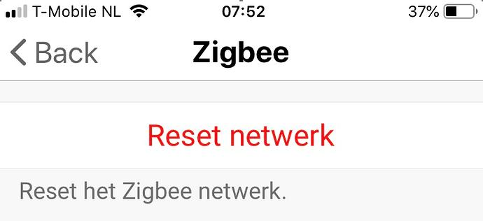 zigbee is dood