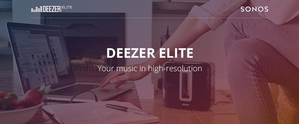 Sonos Deezer Elite
