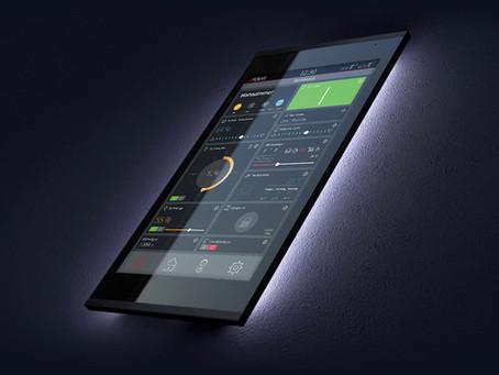 PEAKnx lanceert bekroond 8″ KNX aanraakscherm Controlmicro