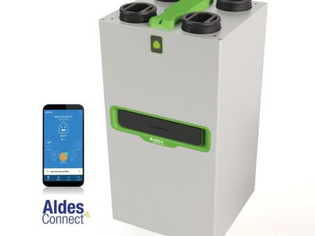Ontdek InspirAIR® Top  het nieuwe geconnecteerde wtw-systeem van Aldes