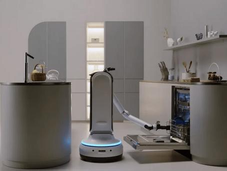 Samsung maakt een robot die wijn kan inschenken en je een drankje kan brengen…