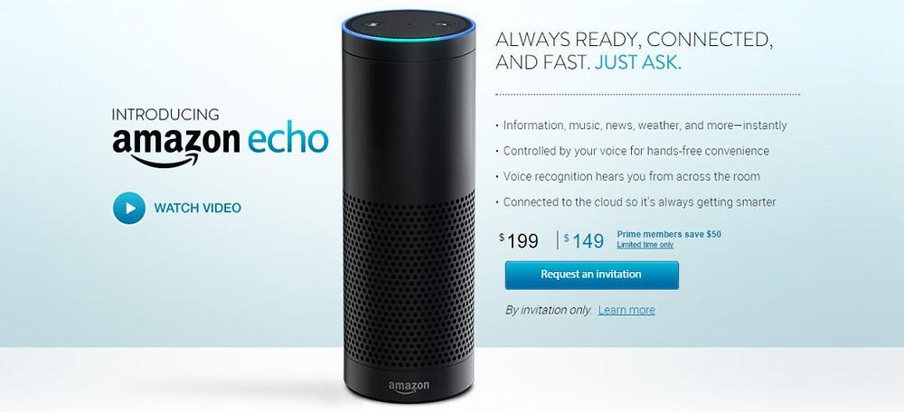 Wat is Amazon Echo