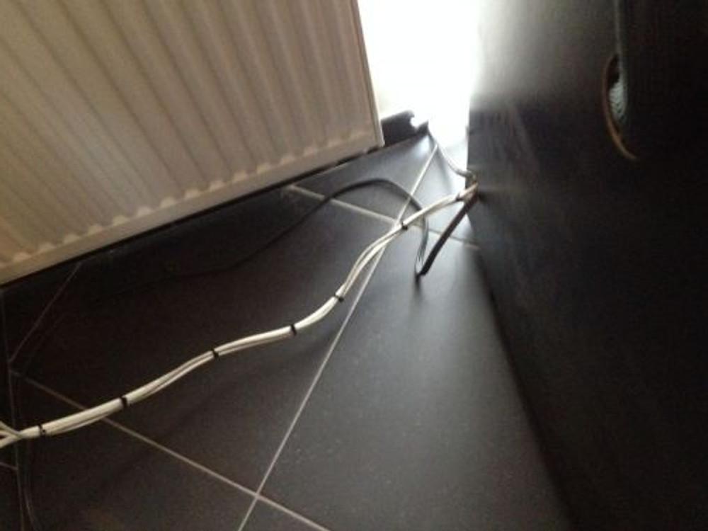 afgewerkte kabels