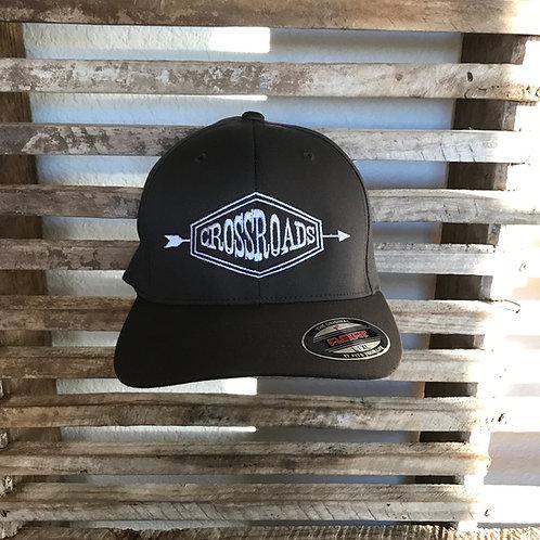 Black Arrow Flex Fit Hat