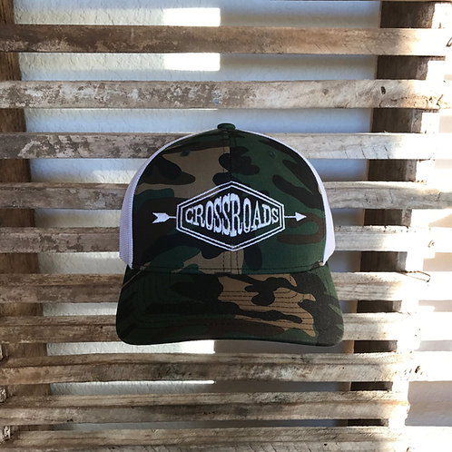 Camo Arrow Trucker Hat