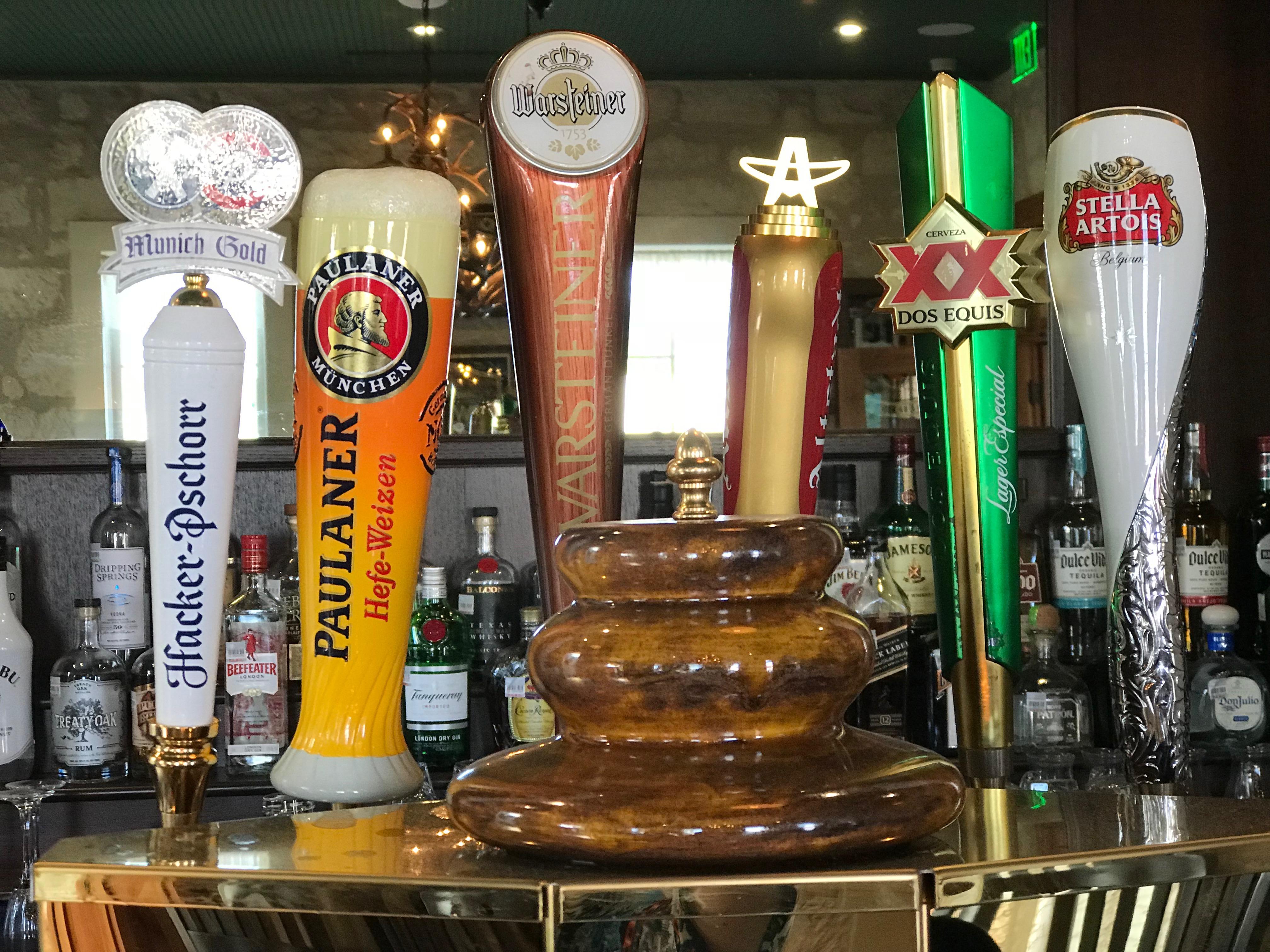 Altdorf Biergarten Beer Taps